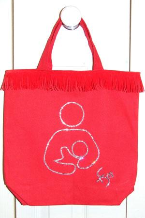 Гламурная сумка в поддержку ГВ