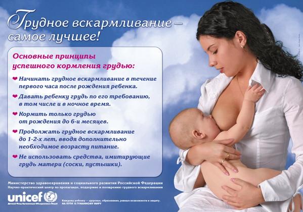 Грудное вскармливание - Бонусы для мамы и ребенка